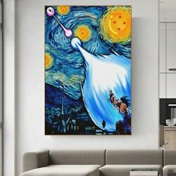 Canvas Painting Posters and Prints Abstract Teen Bedroom Wall Decoration $29.56