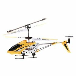 Remote Control Helicopter 3 Channel Mini RC Crash Proof Alloy Frame LED Lights $34.42