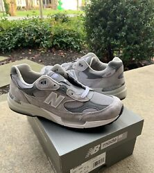New Balance M992GR Made In The USA Size 12 Mens Brand New Grey Shoes $215.00
