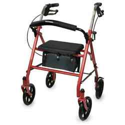 McKesson 4 Wheel Folding Rollator $37.99
