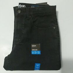 Boys Size 16 Straight Fit Urban Pipeline Black Jean $22.00