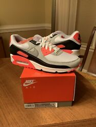 Nike Air Max 90 Infrared 2020 Radiant Red CT1685 100 Mens Size 11.5 New $180.00