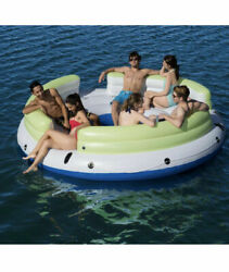 6 person Floating Island inflatable Fun for Pool or Lake great Chill $89.99