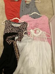 BULK 6 Designer shirts lots women Size Extra Large Michael Kors and others