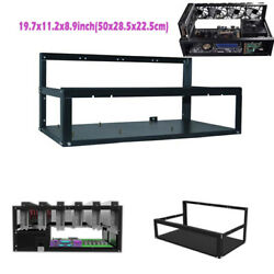 Open Air Miner Mining Frame Rig Case Up to 6 GPU for Crypto Currency Mining HOT $103.59