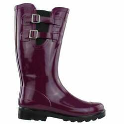 Puddletons Cozy Classic Rain Womens Boots Knee High $22.99