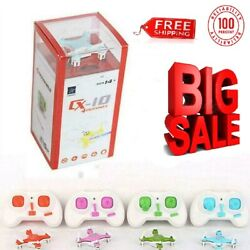 Mini Drone Small Pocket Drone Quadcopter 3D Roll Helicopter Kids Remote Control $24.53