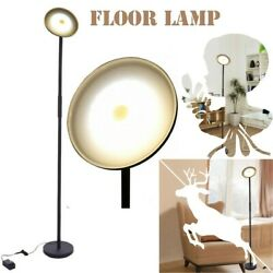 Dimmable LED Floor Lamps Tall Standing Modern Pole Light With Remote Control 30W $78.19