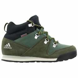 adidas Cw Snowpitch Hiking Kids Boys Boots Ankle Size 2.5 M $59.99