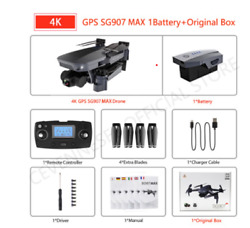 2021 NEW SG907 MAX Drone Quadcopter GPS 5G WIFI Professional 4k HD Mechanical 3 $210.00