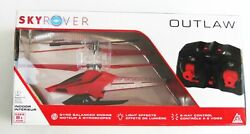 Sky Rover OUTLAW RC Flying Helicopter RED Remote Radio Control Toy NEW Alpha $24.90