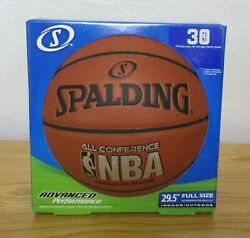Spalding Indoor Outdoor NBA All Conference Basketball Official Size 29.5 NEW AP $20.00