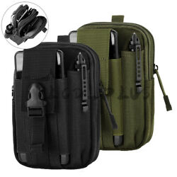 Tactical Waist Fanny Pack Belt Bag Phone Pouch Military Outdoor Camping Hiking $8.44