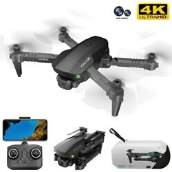 New Mini Dron Profesional 4K WiFi Fpv RC Drone Quadcopter with HD Camera GPS Toy $51.85