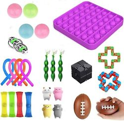 26 Pack Sensory Fidget Toy Set Relieves Stress Anxiety for Children Adult ADHD $14.99