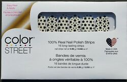 Color Street nail strips STAR FOR THE COURSE RETIRED NEW IN BOX $19.99