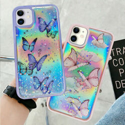 Bling Glitter Butterfly Phone Case Cover For iPhone 13 12 Pro Max 11 XR 7 8 Plus $7.98