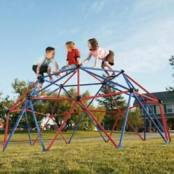 Kids Playground Steel Dome Climber Grips Jungle Backyard Child Play Outdoor 60quot; $217.00