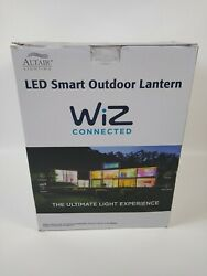 Altair AL 2169 LED Smart Outdoor Lantern Light WiZ Connected Voice Control NEW $69.99