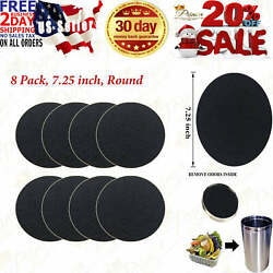 8 Pack Kitchen Compost Bin Charcoal Filter Replacements Compost Pail Carbon $20.95