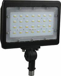 Nuvo Lighting 65 538 9quot;W LED Commercial Flood Light 4000K and Bronze