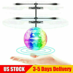 Flash Flying Ball Infrared Induction Colorful LED Disco RC Helicopter Toy P1 $9.99