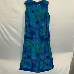 Expressions Plus Women Multicolor Sleeveless Casual Floral A Line Dress Size 18W $22.94
