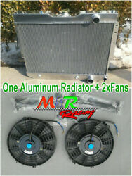Aluminum Radiator amp; Fans for 1960 1965 Chevy Impala Bel Air 1959 1963 Biscayne $191.00