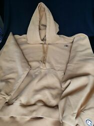 Vintage Champion XXL hoodie Rare Yellow Pre owned $119.95