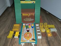 Fisher Price Vintage Little People Play Family A Frame House #990 Complete $84.99