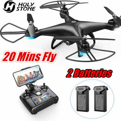 Holy Stone HS110D RC FPV Drones with Upgrade 1080p HD Video Camera RCQuadcopter $58.94