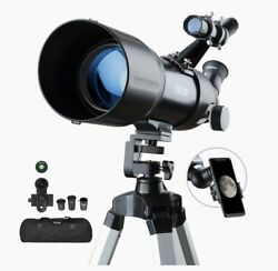 ESSLNB Telescopes for Adults Astronomy Beginners Kids 400X80mm with 10X NEW $179.99