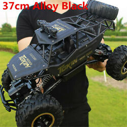 4WD Monster Truck Off Road Vehicle Remote Control Crawler 37CM Electric RC Cars $48.59