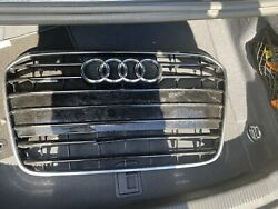 2013 2015 Audi A6 FOR PARTS USE front bumper grille OEM $40.00