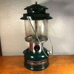 Vtg Coleman Lantern 290A700 THE POWERHOUSE Two Mantle 8 88 w Red Coleman Case $68.99