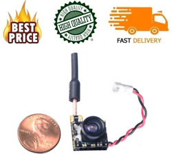 WT05 Micro Fpv Video Video Transmitter Camera 3.4g 5.8GHz For Quadcopter Drone $30.58