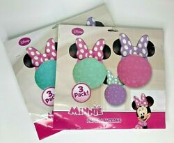 New MINNIE MOUSE Paper Lanterns Party Decorations 3 Count Pink Teal Purple $15.99