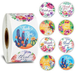 500Pcs roll Animal flower Stickers for seal label scrapbooking Station J C $4.26