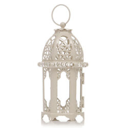 Moroccan Style Candle Lantern Tealight Candle Holder Transparent Glass Panels $8.99