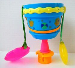 Evenflo ExerSaucer Ultra 2 in 1 Tropical Electronic Talking Pail Bucket Part $14.99