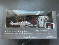 Brookstone U Control Combat Copter Remote Control Helicopter Toy $30.00