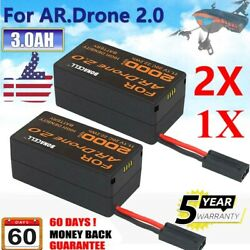 1x 4x 3000mAh 11.1V Lithium Polymer Battery For Parrot AR Drone 2.0 Quadricopter $29.99