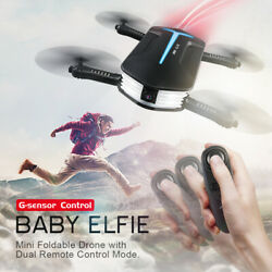 NEW JJRC H37 6 Axis ELFIE WIFI Quadcopter 03MP Camera Foldable RC Selfie Drone $43.98