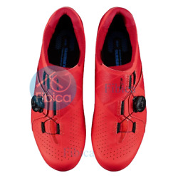 NEW SHIMANO SH RC300 E RC3 ROAD SHOES WIDE RED $164.99
