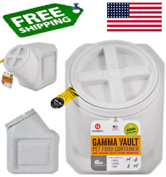 Gamma2 Vault Stackable 40 lb. Airtight Pet Food Container Free Shipping $26.99