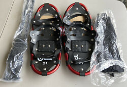 odoland snowshoes with trekking poles $35.00