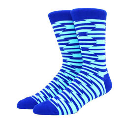 Men#x27;s socks ColourfulCoolNoveltyHigh QualityCottonCrewCrazyCasual Dress $5.50