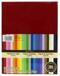 Recollections Cardstock Paper Essentials 20 Colors 200 Sheets 8 1 2 X 11 $35.88