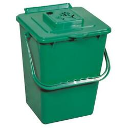 Exaco ECO 2000 2.4 Gal Eco Kitchen Compost Pail with Carbon Filter Green $28.95