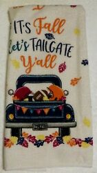 Tailgate Party Kitchen Themed Party Towel 1 $7.99